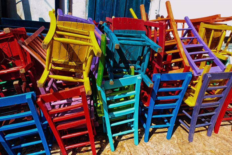 The best way to multiply your happiness is to chair it with others. Chairs Colourful Chairs Turkey Oludeniz Europe Sunshine Sunset #sun #clouds #skylovers #sky #nature #beautifulinnature #naturalbeauty Photography Landscape [a:53920] Colours Colourful Restaurant Decor Outdoors Tadaa Community Creativity Creative Popular Photos EyeEm Best Shots Eyeem Market EyeEm Gallery CreativePhotographer Colour Of Life Stühle Creative Shots Stacked Chairs Farbenfroh