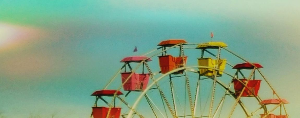 Easter Ready Spring Has Arrived Outdoors Having Fun Easter Carnival Rides Ferris Wheel Pastel Colors Outdoor Photography Enjoying Life Enjoyment Simplicity Simple Photography
