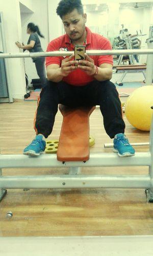 at gym First Eyeem Photo