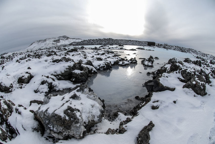 Blue Lagoon Iceland Iceland Memories Travel Travel Photography Traveling Winter Wintertime Beauty In Nature Blue Water Hot Spring Iceland Trip Iceland_collection Nature Outdoors Scenics Snow Thermometer Travel Destinations Volcanic Landscape Volcanic Rock Water