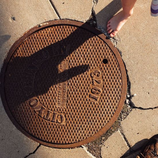 Visual Journal May 2018 Lincoln, Nebraska 35mm Camera A Day In The Life Camera Work EyeEm Best Shots FUJIFILM X100S Getty Images Lincoln, Nebraska Manhole Cover MidWest Nebraska Photo Essay Sidewalk State Capitol Visual Journal Always Taking Photos Body Part City Day Downtown District Eye For Photography Floortraits Foot Photography Footpath Fujifilm High Angle View Human Body Part Human Leg Leisure Activity Lifestyles Low Section Manhole  Nature On The Road One Person Outdoors Photo Diary Real People S.ramos May 2018 Shadow Street Sunlight Travel Destinations Unrecognizable Person