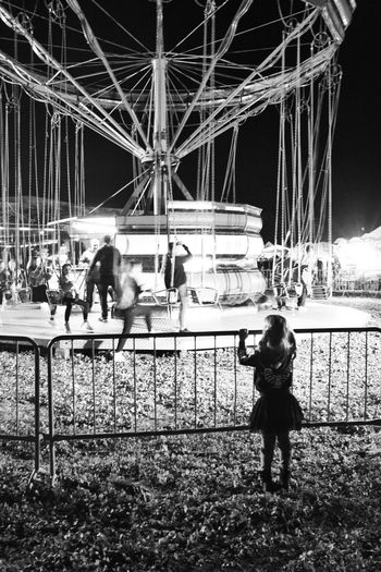 Kid Staring Exclusion Loneliness Fun Monocrome Photography Fair Apart Watching