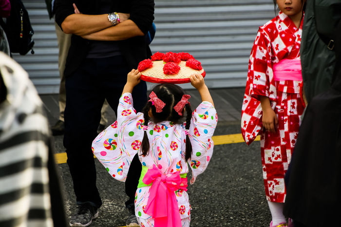 Japanese festival / japanese traditional dress / real people Holiday Moments Group Of People Real People Outdoors Japanese Festival Traditional Festival Trditional Dress City Life Street Photography