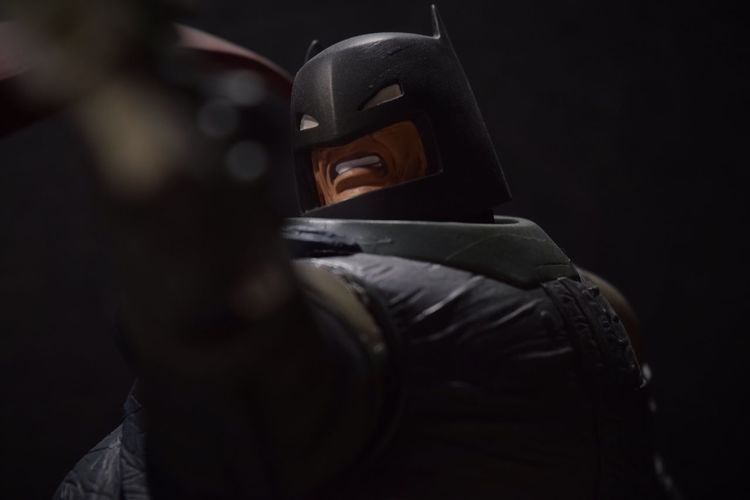 """""""You're beginning to get the idea, Clark. This... is the end... for both of us."""" TheDarkKnightReturns Batman FrankMiller Thebatforce Toyphotography Nikon Dccomics First Eyeem Photo"""