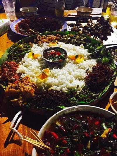 傣族的手抓饭,好吃呢