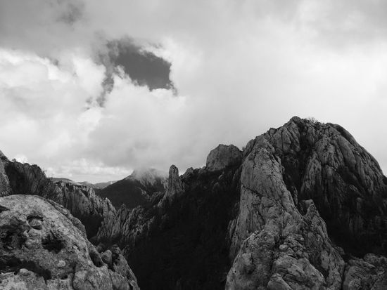 Velebit, Croatia, 2017. | 4 Velebit Velebit Mountain Croatia Mountain Landscape Clouds Stormy Beauty In Nature Nature Rock - Object Rock Formation Scenics Tranquil Scene Outdoors Physical Geography Tranquility