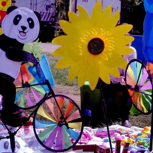 Abundance Arrangement Art Bear Bike Close-up Colorful Day Decoration Flower Multi Colored No People Variation Yellow