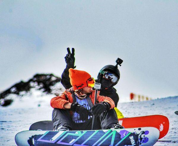 Snow Vallenevado Beatifull Snowboard Ski