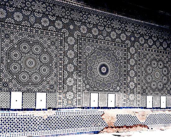 Tiles on tiles Building Exterior Blue Street DoorsAndWindowsProject Architecture Tile Ancient Tilesphotography Tiledsreets Tiles Of Morocco
