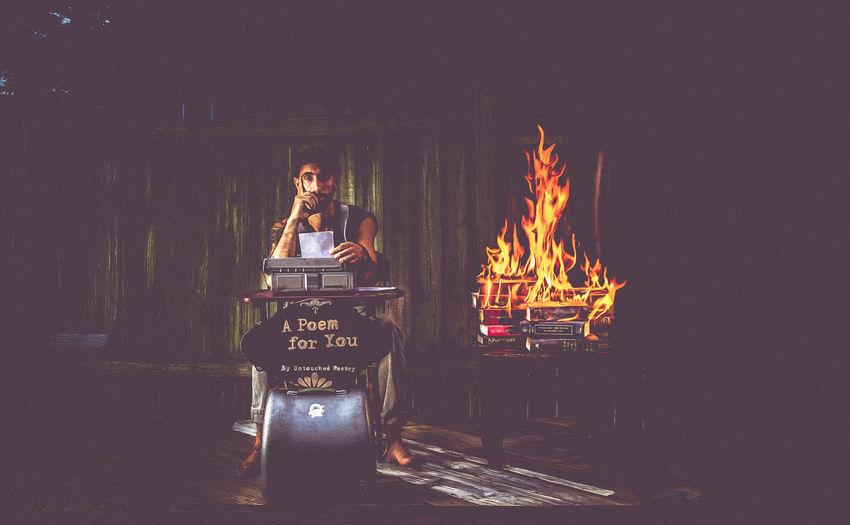 The Creative - 2018 EyeEm Awards Burning Flame Night