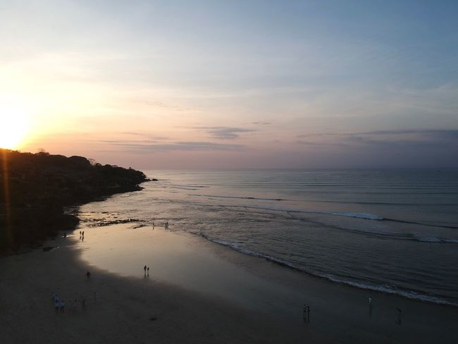 Sunset at Jimbaran Beach, Bali. Sunset In Paradise Paradise Jimbaran Beach Power In Nature Scenery Worlds Best Beaches Wonderful Indonesia INDONESIA Bali Bali From Above Bali, Island Of The Gods Dji Spark Dronephotography Holiday Vacations Travel Destinations Sea Beach Sunset Sand Nature Scenics Water Beauty In Nature Shore Tranquil Scene Tranquility Sky Horizon Over Water Outdoors