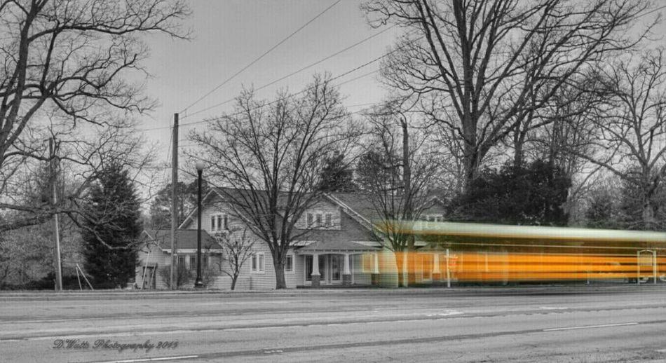 Virginia Schoolbus Selective Color Lazyshutters Longexposure Dayshots Blurred TheMagicSchoolBus Nikonphotography Amazing_captures
