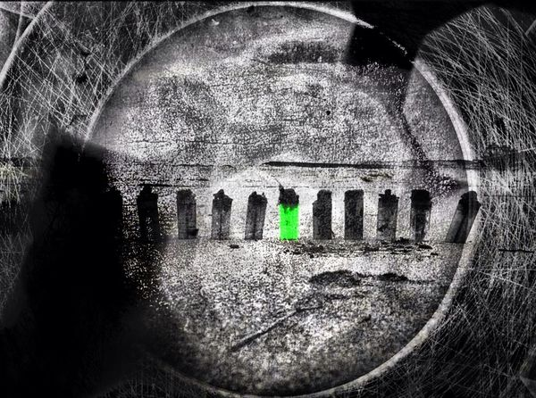 ..yet another take on the green Emography EyeEm Best Edits Portrait ..life Is Burning Bright
