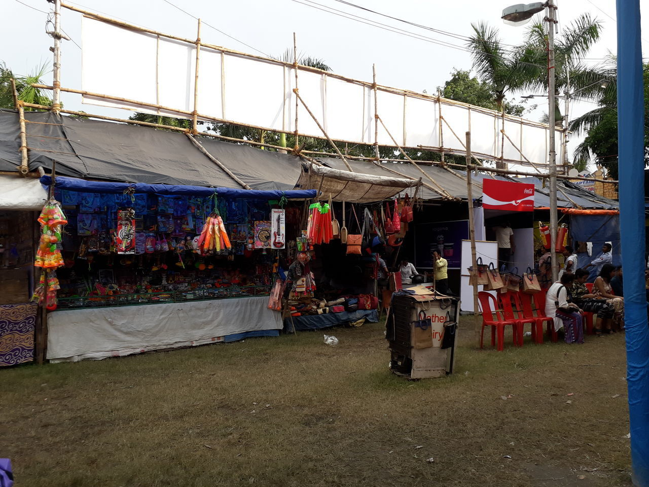 VIEW OF MARKET FOR SALE