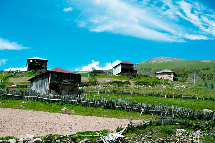 Adjara Architecture Building Exterior Built Structure Cloud - Sky Day Georgia Grass Landscape Nature No People Outdoors Sky