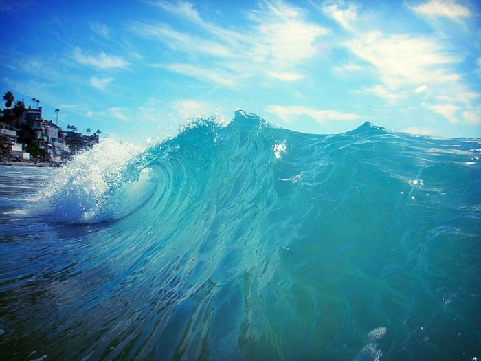 IPS2016Nature Wave Tunnel Waves, Ocean, Nature Wave Curl Ocean California Coast Water Surf Landscapes With WhiteWall The Great Outdoors - 2017 EyeEm Awards