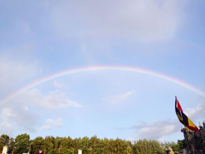 Tomorrowland Mainstage Rainbow Fullmadness