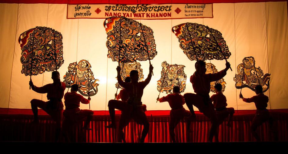 People And Places People And Place People And Places. Show Performance Thailand Rajaburi