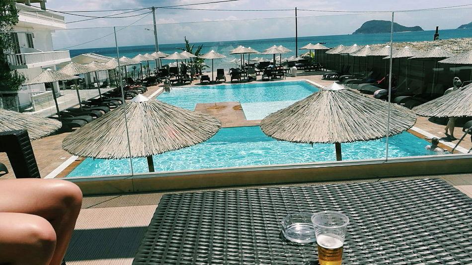 GoodTimes Holidays ☀ Holiday Memories Sunshine Sea Beach Sea Blue Sky Day Drink Water Memories Greece Zakynthos Zakynthos,Greece Goodtimes✌ Vibes People Photo Island Islandlife