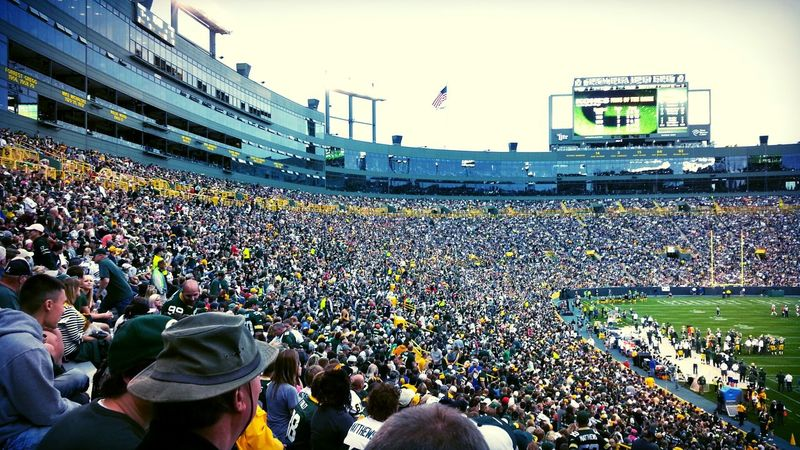 Lambeau Field! Greenbay Wisconsin Check This Out NFL Football