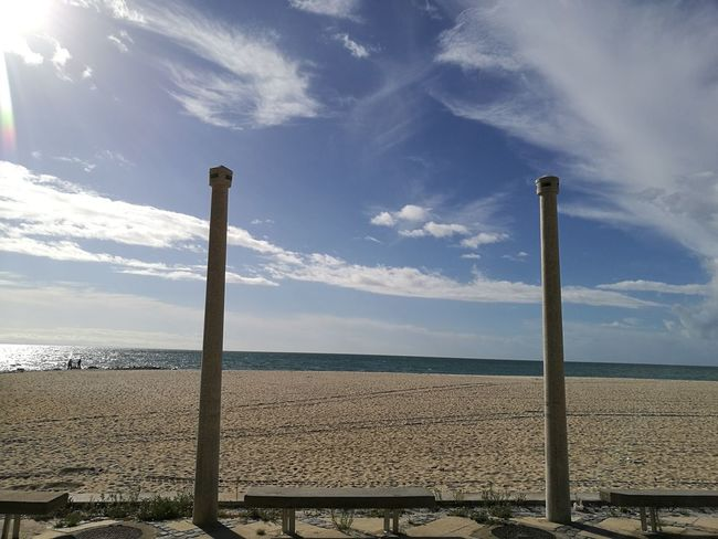 Sky Outdoors Low Angle View Cloud - Sky Day Horizontal Nature Beach Beachphotography Setúbal Portugal Scenics TakeoverContrast Beauty In Nature Horizontal Silhouette Silhouettes Figueirinha