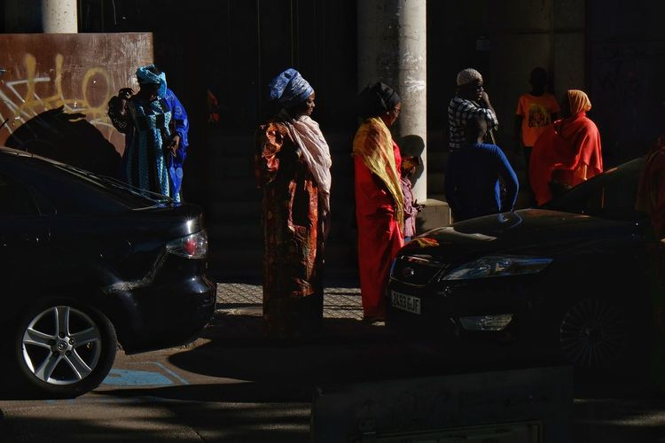 Streetphotography Street Photography Street Light Streetphoto People Candid Light And Shadow Colours Full Length City Wearing Sari