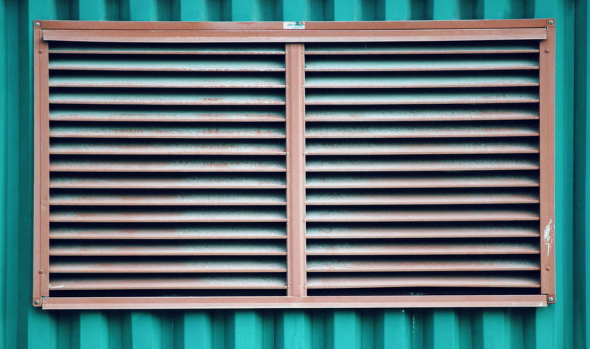 Backgrounds Pattern Textured  Shutter Metal Corrugated Iron Close-up Architecture Built Structure Air Duct Closed Latch Geometric Shape Square Shape My Best Photo