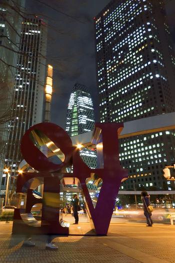 The Architect - 2016 EyeEm Awards Nightphotography Night Eyemphotography We_are_buddy_Tm's_photo EyeEm Best Shots Cityscape Shinjuku