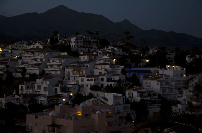 City Cityscape No People Outdoors Residential District Scenics Sky Spain, Andalucia, Malaga Town