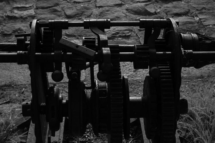 Day Industry Manivelle Mecanic Mecanique Mecanisme Metal No People Outdoors Rouage Rouille Rouillée Wheel