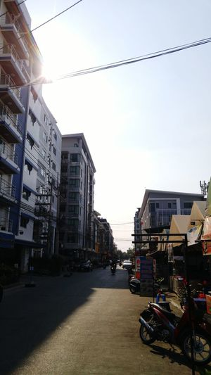 Sky Built Structure Building Exterior Architecture City Business Finance And Industry Outdoors Day No People ม.รังสิต หลังม.รังสิต เมืองเอก Streetpictures Street Road City Life City Thai Thailand Thailandsky