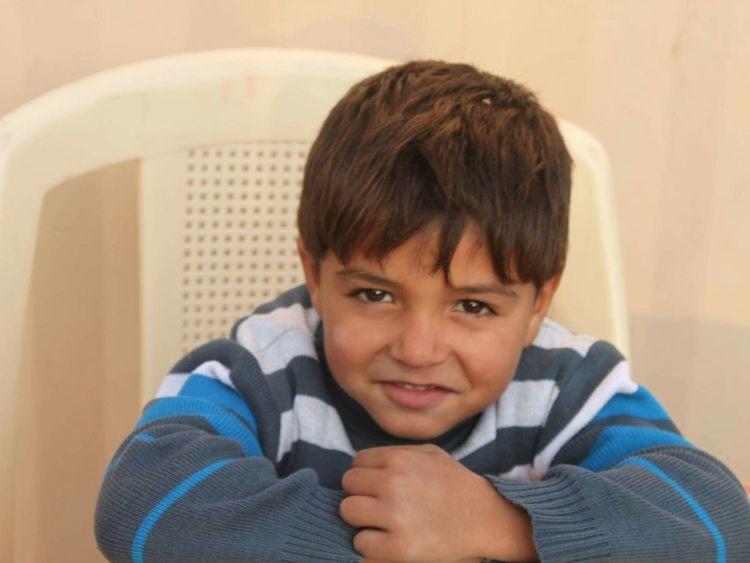 Child Portrait Gaza-Palestine