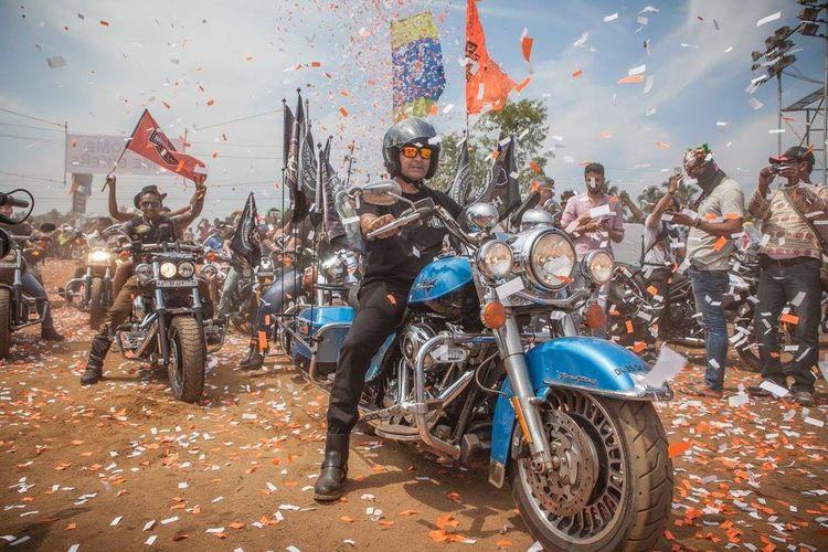 IBW GOA 2016 Hanging Out That's Me Enjoying Life Sonubabu Screeming Eagle Harleydavidson Goa Ihr