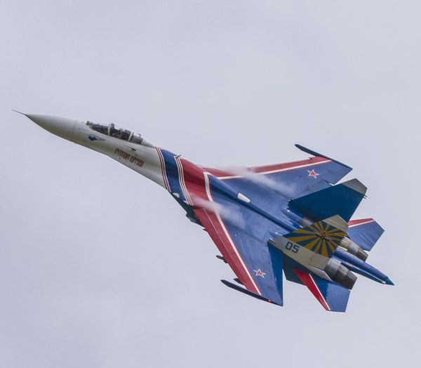 Russianknights Su27 Flanker Air Aircraft