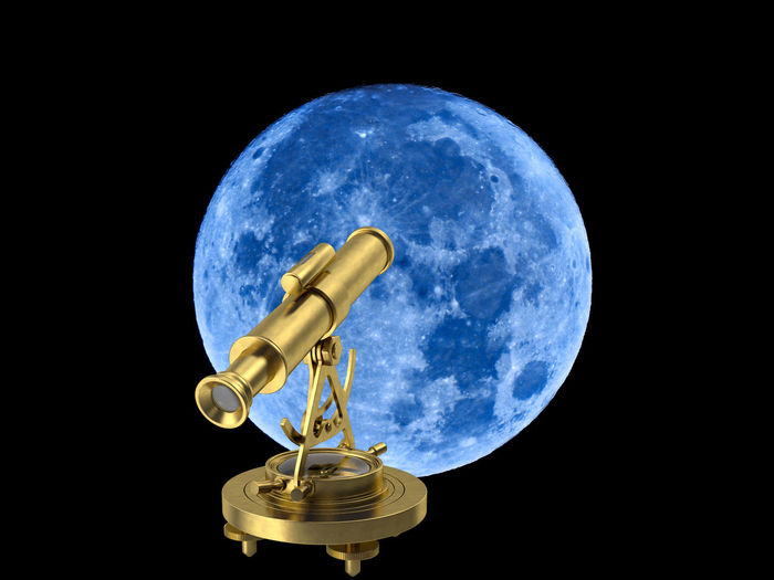 Moon Astronomy Black Background Blue Copy Space Education Global Communications Globe - Man Made Object Indoors  Luna Metal Nature Night No People Orbiting Planet - Space Planet Earth Science Single Object Sky Space Space Exploration Studio Shot