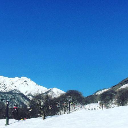 Snowboarding Wintersport Winter Suny Day Mt.Daisen