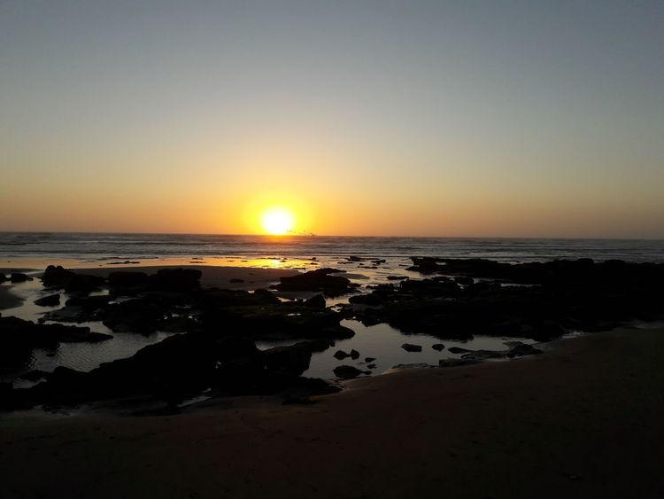 Sunset Laayoune Laayounemorocco Moroccan Sahara
