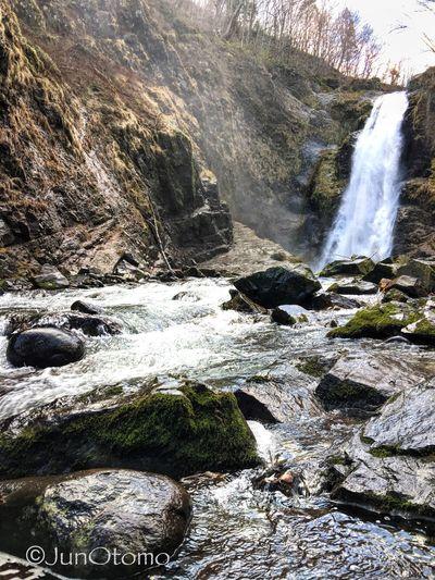 『Miyagi,Japan × iPhoneography【秋保大滝】』 Japan Photography Iphone6splus Japan Miyagi Sendai Waterfall Nature