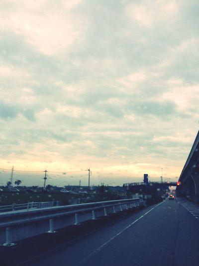雨上がりの空 Sky 夕方