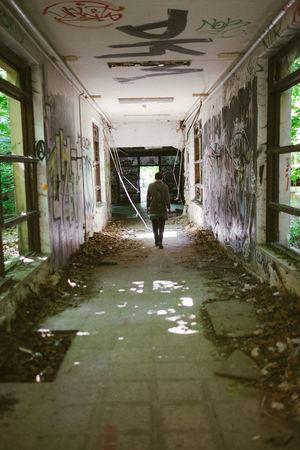 Abandoned Berlin Capture Berlin Children's Hospital  Day Derelict Deutschland Germany Indoors  Light One Person Outdoors Ruins Shadow