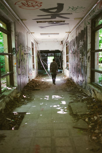 Abandoned Berlin Capture Berlin Children's Hospital  Day Derelict Deutschland Germany Indoors  Light One Person Outdoors Ruins Shadow