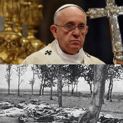 "VATICAN CITY — Pope Francis on Sunday marked the 100th anniversary of the slaughter of Armenians by calling the massacre by Ottoman Turks ""the first genocide of the 20th century"" and urging the international community to recognize it as such. Turkey immediately responded by recalling its ambassador and accusing Francis of spreading hatred and ""unfounded claims."" 1915neveragain ArmenianPride 1915 ArmenianGenocide 100yearsofGenocide Tsitsernakaberd recognize1915 RESPECT1915 RecognizetheArmenianGenocide"