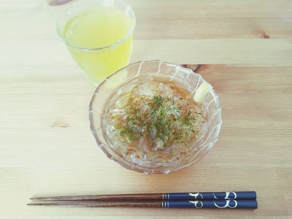 Tokoroten Japanese Food Soulfood ところてん Cool Noodles Noodle Clear
