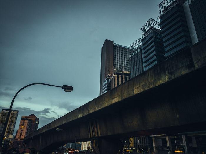 City Low Angle