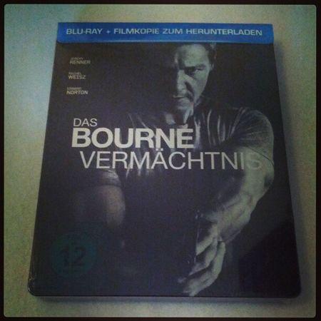 """Grad eingetroffen, """"Das Bourne Vermächtnis"""" Blu-ray Steelbook #bourne #bluray #steelbook Bourne Bluray Steelbook"""