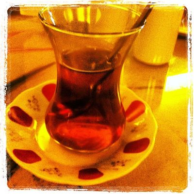 Çay keyfi...