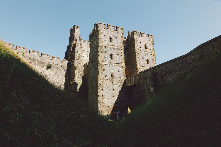 Ancient Architecture Arundel Arundel Castle Building Exterior Built Structure Castle Day Deterioration Exterior History Low Angle View No People Old Old Ruin Outdoors Run-down Sky The Past