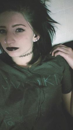 You make me wanna scream Tumblr ♡  Grunge Selfie Tumblr ♡  Only Women Spooky Dark Grunge_effect GrungeStyle Creepy Tumblrgirl Relaxation Indoors  Grungeroom Mysterious Girl Night One Person Portrait Black Color Black Black Lipstick  Rebel Rebelpunk Music Bedroom