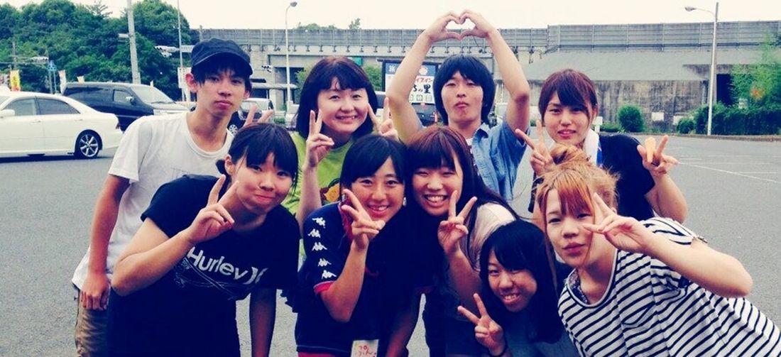 Hakuoh Summer Holidays Oharai Sea Training No.1 2014.08.20-23