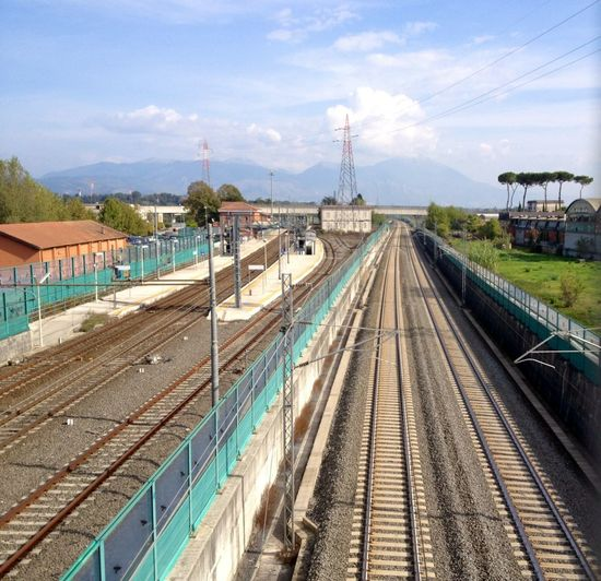 linea lenta e linea veloce Landscape_Collection Railway Walking Around Bridges